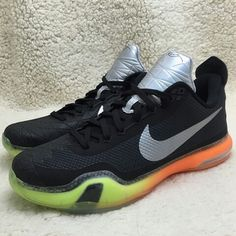 timeless design 4f4ca bd268 The Nike Kobe 10 in a Flyknit Air Max Colorway