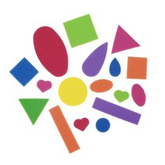 Foamies® Stickers Value Pack Basic Shapes