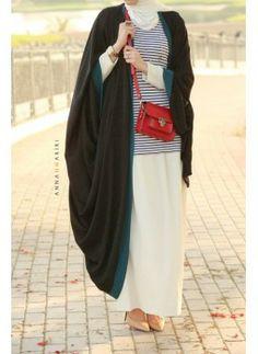 Beautiful cape abaya. Follow the link to purchase: http://zynira.com/index.php?route=product%2Fproduct&path=60&product_id=51   #abaya #hijab #hijabfashion