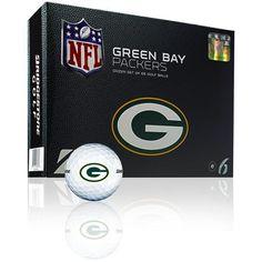 e6 Green Bay Packers 12pk Golf Balls - $32.99