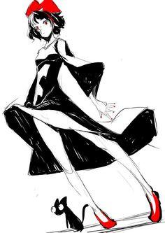 """""""Durarara!!"""" Artist Suzuhito Yasuda Sketches Kiki"""