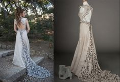 Margaery Tyrells wedding dress. So awesome! Rose & Thorn Embroidery just stunning. I want this dress!!