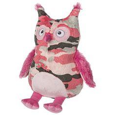 Cute Camo Owl Plush!