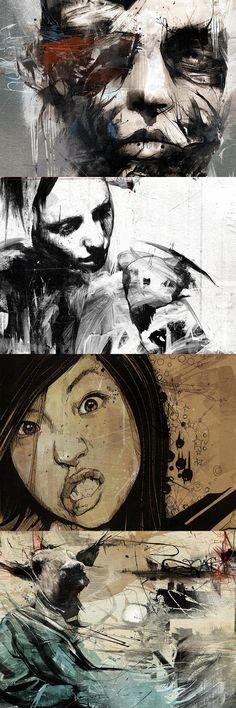 grafiker.de - Einzigartige Illustrationen von Russ Mills