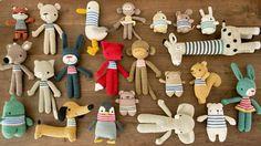 Pica Pau crochet toys