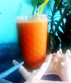 Refreshing morning smoothie     Banana & Carrot