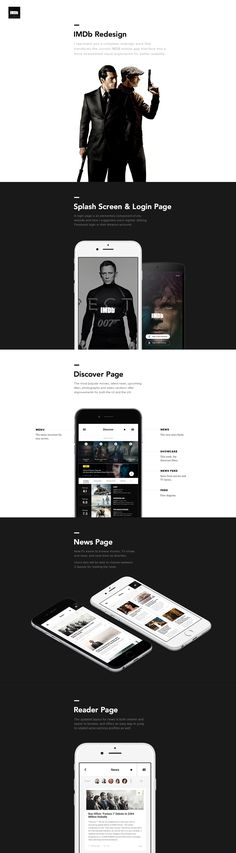 IMDB Redesign Concepts. The UX Blog podcast is also available on iTunes.