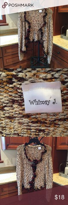 Whimsy J Hand Knit Sweater Whimsy J Hand Knit Sweater Whimsy J Sweaters