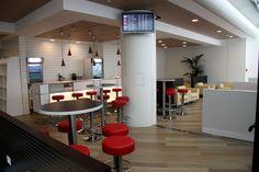 The Avia Lounge at Italy Rome - Leonardo Da Vinci Terminal 3