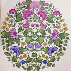 Joanna Basford Colouring Coloring Books Gallery Secret Gardens Kid Floral Design Journaling Enchanted Garden