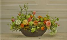 I am mad for this naturalistic design from  a floral design studio in L.A. called The Dandelion Farm.