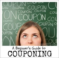 This easy guide to couponing will teach you everything you need to know to start saving money with coupons immediately!