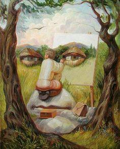 Look closely! Incredible work by #olegshuplyak