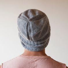 Hand Knit Hat for Men Shear Alpha от gridjunky на Etsy