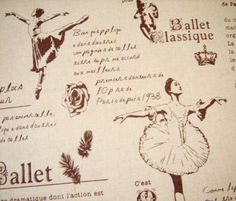 French Ballet Fabric
