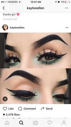 Her makeup is on fleek...