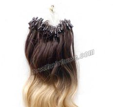 26 Inch 100s Body Wave Trendy Micro Loop Hair Extensions Two Tone Ombre 100g no 1