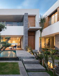 Villa C in Rabat by Elouardighi Mounir