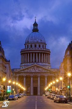 Le Pantheon - Sorbonne, Paris, Ile-de-France, FR,