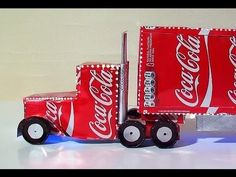 How To Make Coca Cola Truck Christmas Decoration How to make the Coca Cola Lorry. DIY tutorial guide for turning old Coke cans into a model of the Christmas Coke Lorry which actually lights up.