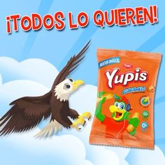 Son tan pero tan ricos que todos quieren atraparlos, pero solo tu puedes disfrutarlos   #YupisCaramelo #Yupis #snacks #rico #comida #food #foodporn #Recipe #Picar #Yum #Healthy #Yummi #Lonchera #delicious #Yupi