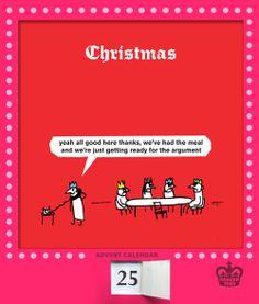 Modern Toss Christmas Cartoons, Christmas Humor, Funny Me, Tossed, Funny Cartoons, Christmas Inspiration, It Hurts, Advent Calendar, Festive