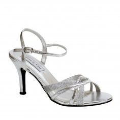 TARYN-199 Women Glittery High Heels - Silver