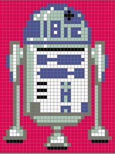 Star Wars Quilt Pattern free star wars pixel quilt pattern the bored zombie Crochet Pixel, Star Wars Crochet, Crochet Stars, Star Wars Quilt, Cross Stitching, Cross Stitch Embroidery, Cross Stitch Patterns, Star Wars Crafts, Pixel Pattern