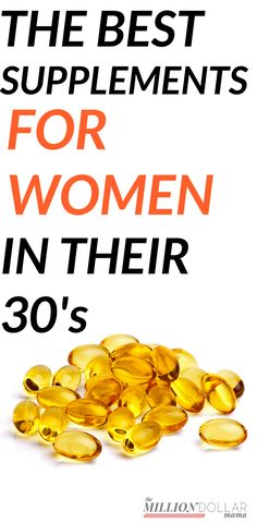 The Best Supplements for Women in Their - You can't out-supplement a bad diet, but supplements can help bridge the gap and provide you with essential vitamins and minerals, and help keep you healthy. Click through to find out the best supplements for Good Multivitamin For Women, Best Multivitamin, Good Vitamins For Women, Daily Vitamins, Liquid Vitamins, Health Vitamins, Kids Vitamins, Prenatal Vitamins, Natural Vitamins