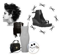 """""""Crazy shoes and hair 3"""" by fun-time ❤ liked on Polyvore featuring Giuseppe Zanotti, Max Studio, Topshop, Michael Kors, Wet Seal, Anne Klein, polyvoreeditorial, crazyshoes and CrazyHair"""