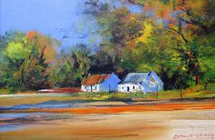 Bio Derric van Rensburg, internationally renowned for his superb impressionist paintings, is widely rated as one of South Africa's top artists. He is well known for his colourful landscapes, the vi… Impressionist Paintings, Oil Paintings, South African Artists, Top Artists, Original Art, Art Gallery, Canvas, Farms, Artwork