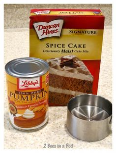These are all of the ingredients that you need for these delicious Weight Watchers Pumpkin Spice Muffins