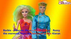 Barbie - Princess Alexa s Party  - Guests  Romy the mermaid, Nori the fa...