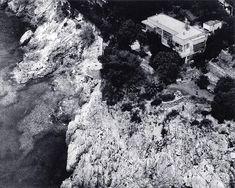 Vista aérea de la villa