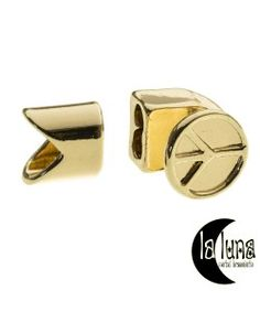 Luna Leer armband
