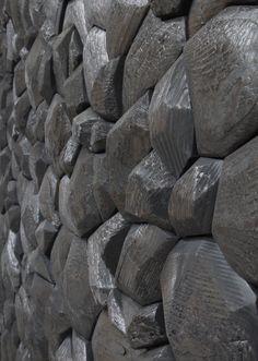 Rod Mireau | wooden sculpture detail