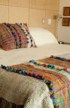 :: Bienvenidos :: Telaresisa.cl :: very Saori like handwoven textiles - beautiful items