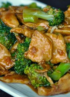 Orange Chicken Stir Fried. Easy to Cook