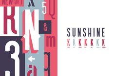 Sunshine Typeface Family by thomas_ramey on Creative Market