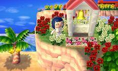 バラの花壇 メルヘン