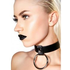 Fullyoung Woman Body Harness Neck Collar Body Suspenders Straps Women Body Cage Belt Lingerie Bondage Lingerie Cage Color - New Ideas Leather Harness, Leather Collar, Mode Rock, Use E Abuse, Ring Der O, Neck Collar, Posture Collar, Leather Necklace, Leather Ring