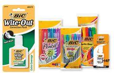 FREE BIC White-Out & Bic Pens at Dollar Tree, Target &Walmart! http://po.st/TyEO07
