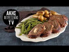 Μοσχαρίσιο Ρολό με Μπέικον και Καπνιστό Τυρί Επ. 25 | Kitchen Lab TV | Άκης Πετρετζίκης - YouTube