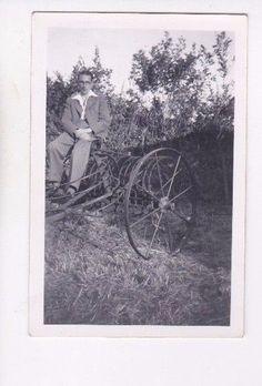 Old #photo people man #farming machinery farm #fashion dc33,  View more on the LINK: http://www.zeppy.io/product/gb/2/381929699996/