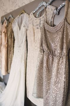neutral colors inspired sequins bridesmaid dress for fall wedding ideas wedding fall ideas / april wedding / wedding color pallets / fall wedding schemes / fall wedding colors november Sequin Bridesmaid Dresses, Wedding Bridesmaids, Wedding Attire, Sparkly Dresses, Bridesmaid Ideas, Fall Wedding, Our Wedding, Dream Wedding, Rustic Wedding