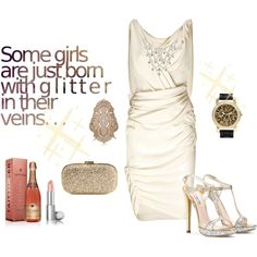 Glitter Glamour, created by fashionistaluxuries on Polyvore