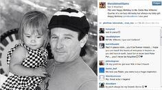 Dieses Bild aus vergangenen Tagen veröffentlichte Robin Williams vor gerade einmal zwei Wochen auf Instagram