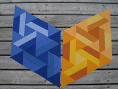 Anja Quilts: Gravity Block 8 - Eclipse