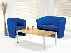 Again, I like blue, and I like the style of the chairs.
