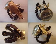 40 Most Stunning Steampunk Gadgets Steampunk Gadgets, Steampunk Watch, Steampunk Diy, Good Fellows, Retro Futuristic, Aesthetic Design, Steampunk Clothing, Material Girls, Inventions